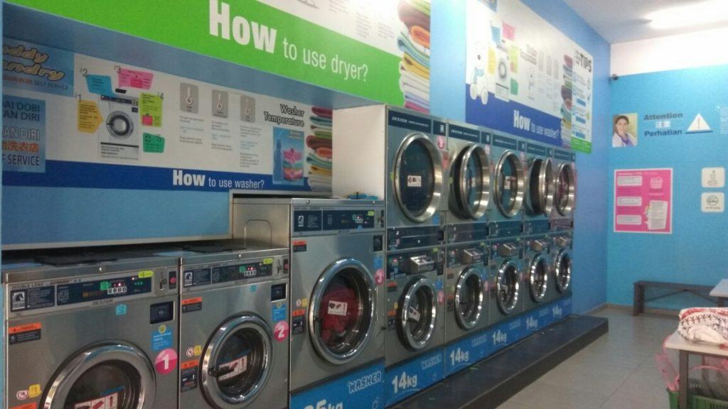 Keadaan Tempat Self-Service Laundry