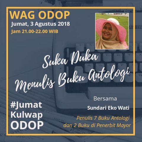 Buku Antologi Sundari Eko Wati