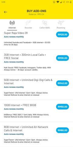 Paket Internet - Digi